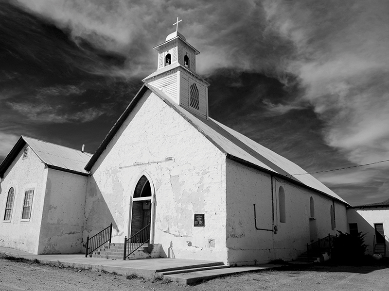 Shafter-Church-Art-Gallery-Stay-At-Fort-Davis-Cow-Camp